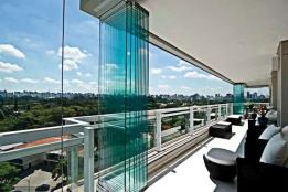 Bartın cam balkon katlanır cam balkon sistemleri