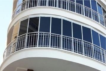 Bartın cam balkon uygulaması